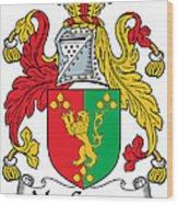 Macgaynor Coat Of Arms Irish Wood Print