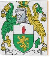 Macgenis Coat Of Arms Irish Wood Print