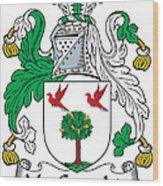 Macgeraghty Coat Of Arms Irish Wood Print