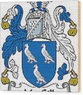 Macgill Coat Of Arms Ulster Ireland Wood Print