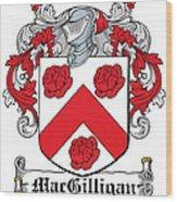 Macgilligan Coat Of Arms Irish Wood Print