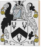 Macgirr Coat Of Arms Irish Wood Print
