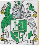 Macgogarty Coat Of Arms Irish Wood Print
