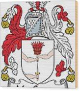 Macgowan Coat Of Arms Irish Wood Print