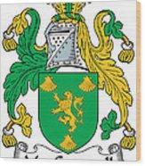 Macgrannell Coat Of Arms Irish Wood Print