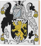 Macgratton Coat Of Arms Irish Wood Print