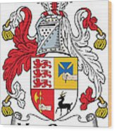 Macgraw Coat Of Arms Irish Wood Print