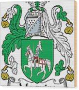 Macguire Coat Of Arms Irish Wood Print