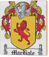 Machale Coat Of Arms Irish Wood Print