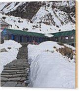 Machhapuchchhre Base Camp, Nepal  Wood Print