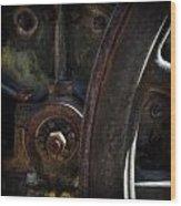 Mechanical Pareidolia  Wood Print