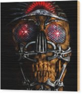 Machine Head Wood Print