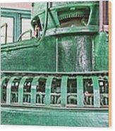 Machinery Wood Print