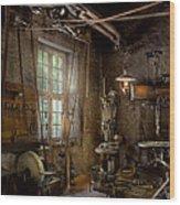 Machinist - Industrial Revolution Wood Print