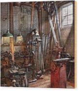 Machinist - The Modern Workshop  Wood Print