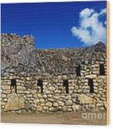 Machu Picchu Peru 13 Wood Print