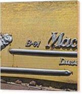 Mack B-61 Diesel Wood Print