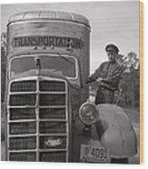 Mack Truck  1943 Wood Print