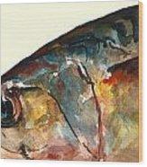 Mackerel Fish Wood Print