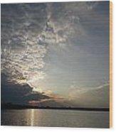 Mackerel Sky Wood Print