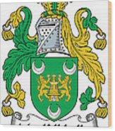 Mackillikelly Coat Of Arms Irish Wood Print