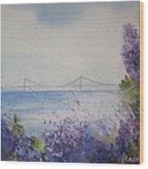 Mackinac Island Lilacs Wood Print