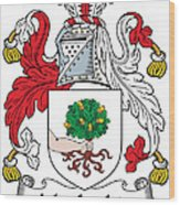 Macloskie Coat Of Arms Irish Wood Print