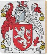 Macmorogh Coat Of Arms Irish Wood Print