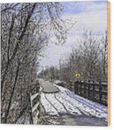 Macomb Orchard Trail Wood Print