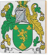 Macrannell Coat Of Arms Wood Print