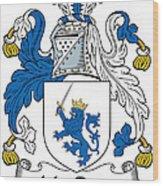 Macrery Coat Of Arms Irish Wood Print
