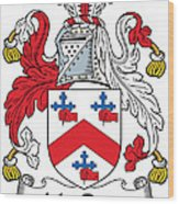 Macrory Coat Of Arms Irish Wood Print