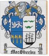 Macsheehy Coat Of Arms Irish Wood Print