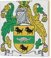 Macsweeney Coat Of Arms Irish Wood Print