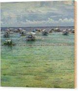 Mactan Island Bay Wood Print