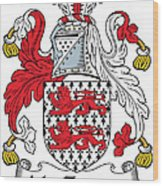 Mactiernan Coat Of Arms Irish Wood Print