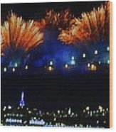 Macy's 2014 Fireworks Wood Print
