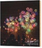 Macy's July 4th Fireworks New York City  Wood Print