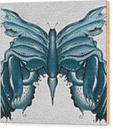 Madam Butterfly Wood Print