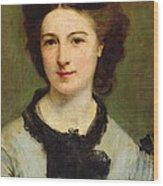Madame Charles Garnier Wood Print
