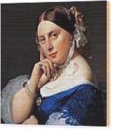 Madame Delphine Ingres Wood Print