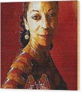 Madame Exotic Wood Print