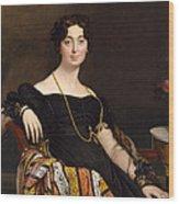 Madame Jacques-louis Leblanc. Francoise Poncelle Wood Print