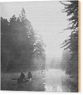 Madawaska Morning Wood Print