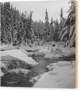 Madawaska River Wood Print