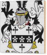 Maddox Coat Of Arms Irish Wood Print
