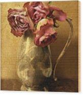 Madeira Roses Wood Print