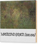 Madeline 65 Wood Print