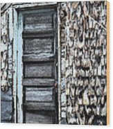 Madeline's Barn Wood Print