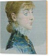 Mademoiselle Lucie Delabigne Wood Print